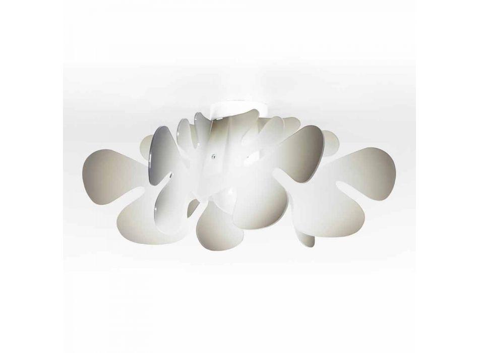 Modern ceiling lamp in methacrylate decoration nuance, L.53xP.53 cm, Debora