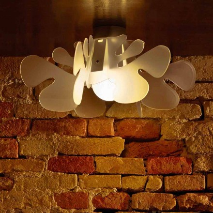 Modern design ceiling lamp Debora, 53x53 cm, made of methacrylate