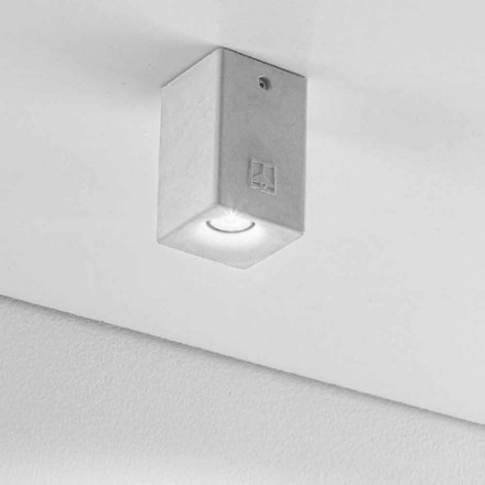 Modern square shape outdoor LED ceiling light Nadir 2