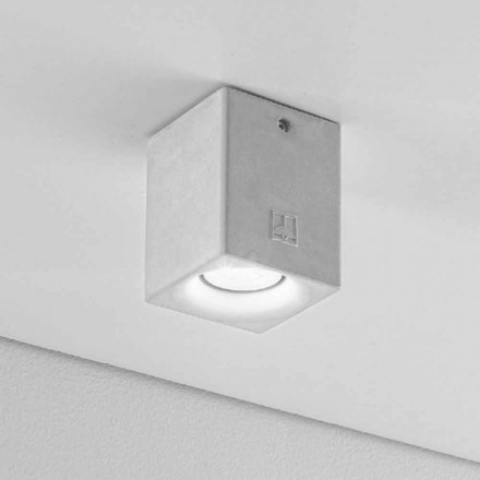 Modern design outdoor ceiling light Nadir 3 by Aldo Bernardi