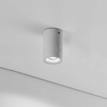 Designer outdoor LED ceiling light Nadir 9 by Aldo Bernardi