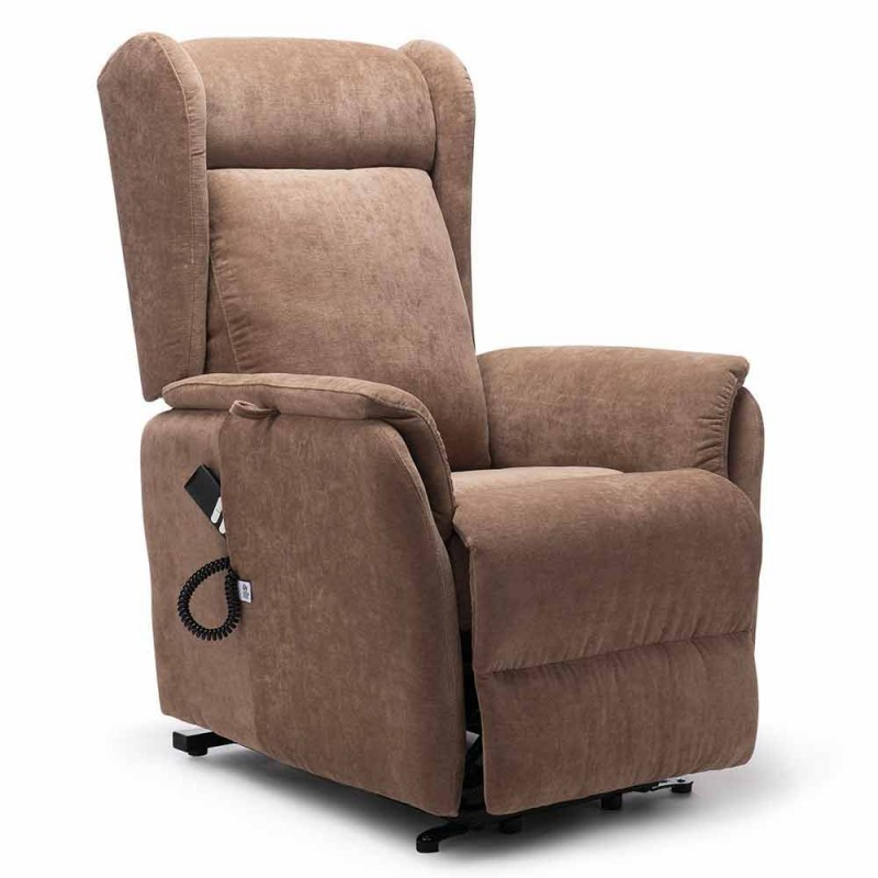 Lift Relax Lifting Patient Armchair with 2 Motors Wheels - Juliette