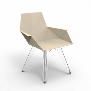 Faz Vondom design outdoor armchair, polypropylene and polycarbonate