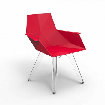 Faz Vondom design outdoor armchair, polypropylene and polycarbonate