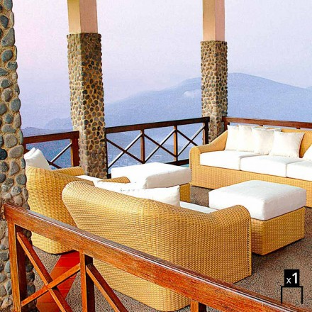 Handmade garden armchair Cooper, modern design
