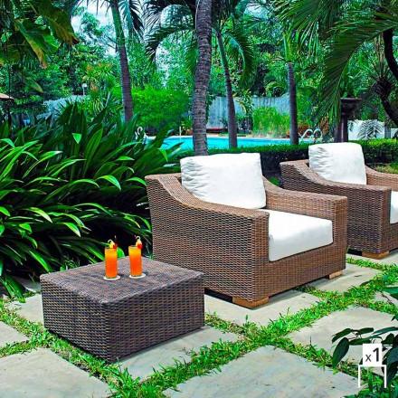 Handmade garden armchair Joe, modern design