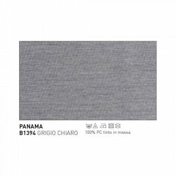 Design Varaschin Emma outdoor armchair in aluminum and fabric