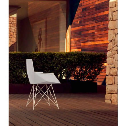 Moder garden armchair Faz collection by Vondom, designer Ramòn Esteve