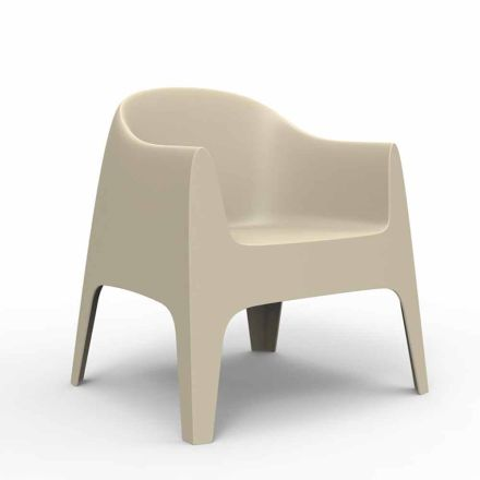 Outdoor armchair Solid collection by Vondom, designer Archirivolto
