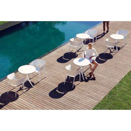 Outdoor armchair designer Eugeni Quitllet, Africa collection by Vondom