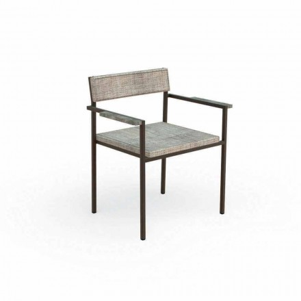Casilda Talenti design outdoor dining armchair
