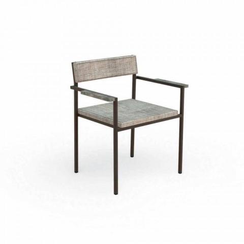 Casilda Talenti design outdoor dining armchair