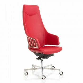 Executive office chair model by Italian Luxy, made in Italy