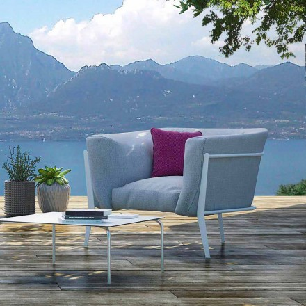 Modern and Made in Italy Outdoor or Indoor Design Armchair - Carminio1