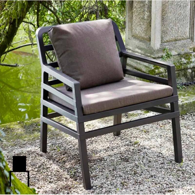 Asia modern garden armchair