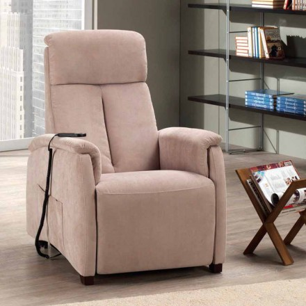 Single motor riser recliner chair Via Venezia