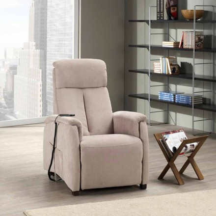 Dual motor riser recliner chair Via Venezia