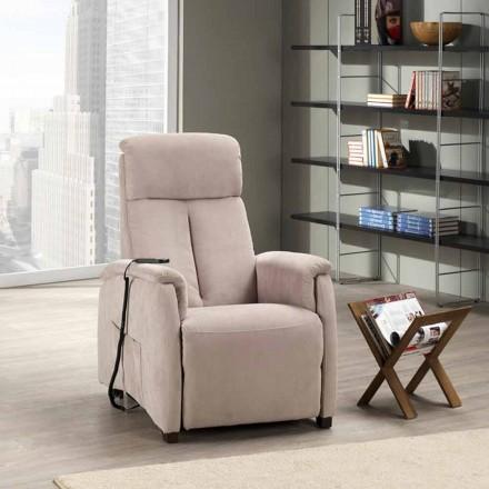 Eletric recliner armchair, Dual motor, Via Venezia