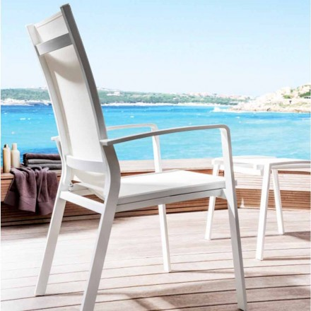 Modern outdoor recliner chair Lady by Talenti
