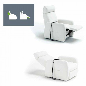 Relaxing relax armchair with 2 engines Via Milano