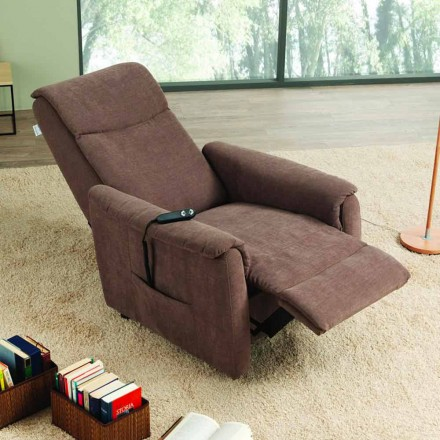 Dual motor riser recliner chair Via Milano