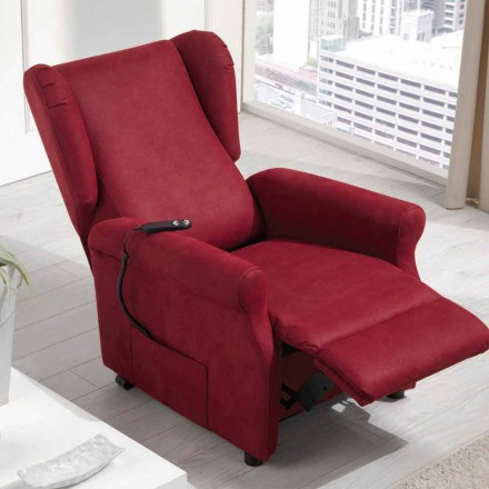 Recliner armchair, Dual motor, Via Verona