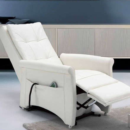 Dual motor riser recliner chair Via Roma