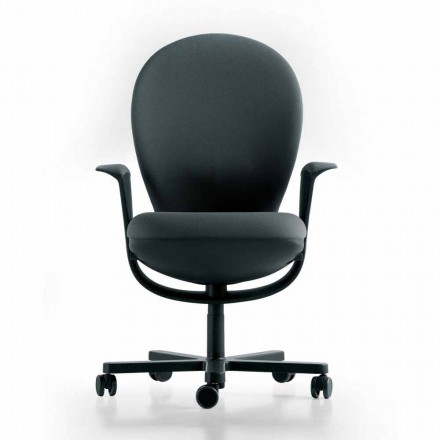Executive chair Bea by Luxy, with grey frame