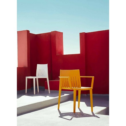 Armchair Spritz collection by Vondom, polypropylene with fiber glass