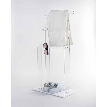 Towel holder in Zaneta PMMA plexiglass