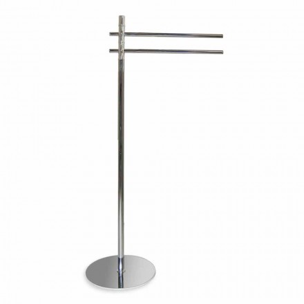 Iron Towel Rack with 2 Iron Arms Made in Italy - Cider