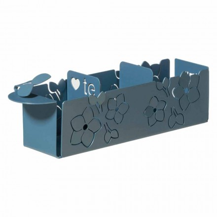 Porta The Sachets from The Floral of Modern Design in Iron Made in Italy - Marken