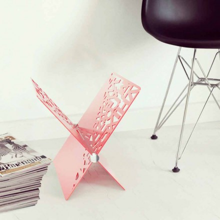 Design magazine rack Rotokalko by Mabele
