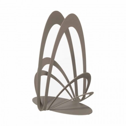Design Iron Cup Holder Handcrafted, Made in Italy - Futti