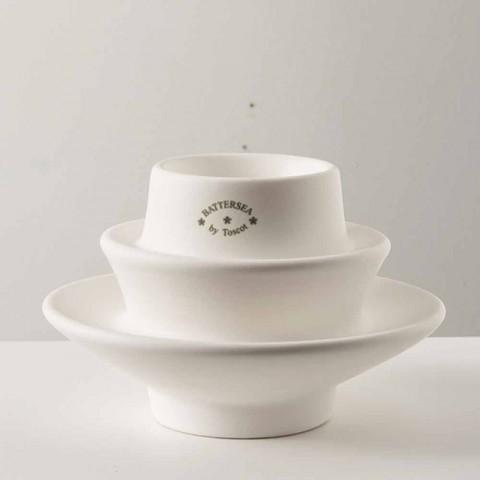 Glazed ceramic candle holder, H 110cm, Candelsea - Toscot
