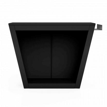 Indoor or Outdoor Firewood Holder of Design with Worktop - Esplanade