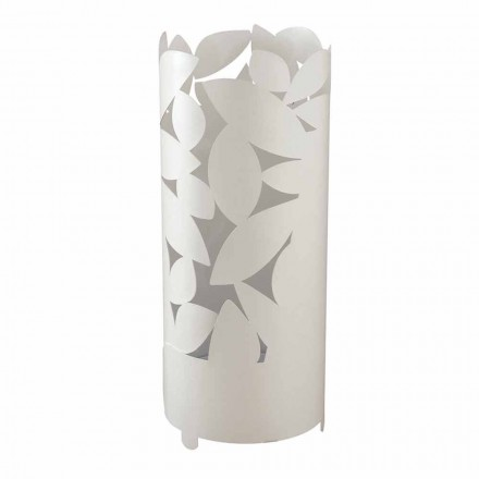 Design Umbrella Stand with Iron Leaves Silhouettes Made in Italy - Piumotto