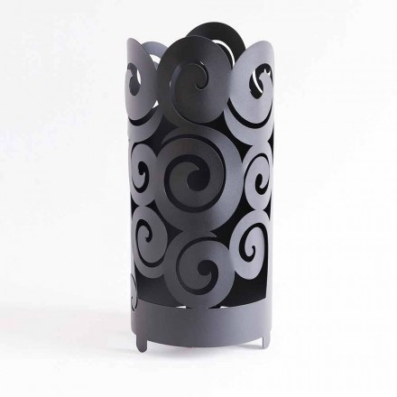 Umbrella stand of Modern Design in Colored Iron Made in Italy - Astolfo