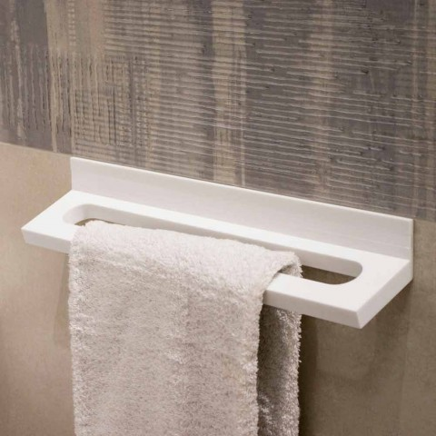 Bring it to the bathroom wall white Corian or with black insert 46 or 62 cm - Elono
