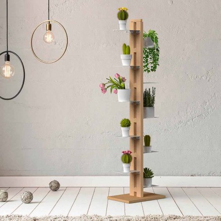 Vertical modern design plants holder Zia Flora