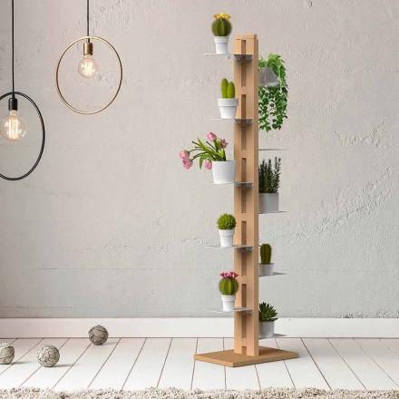 Vertical modern design plants holder Zia Flora