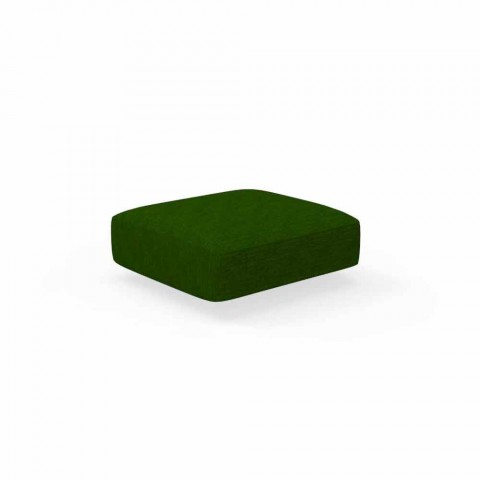Cliff Talenti modern outdoor pouf in fabric, design Palomba