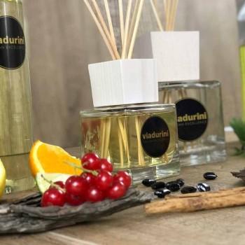 Amber Fragrance Home Air Freshener 2.5 Lt with Sticks - Romaeterna