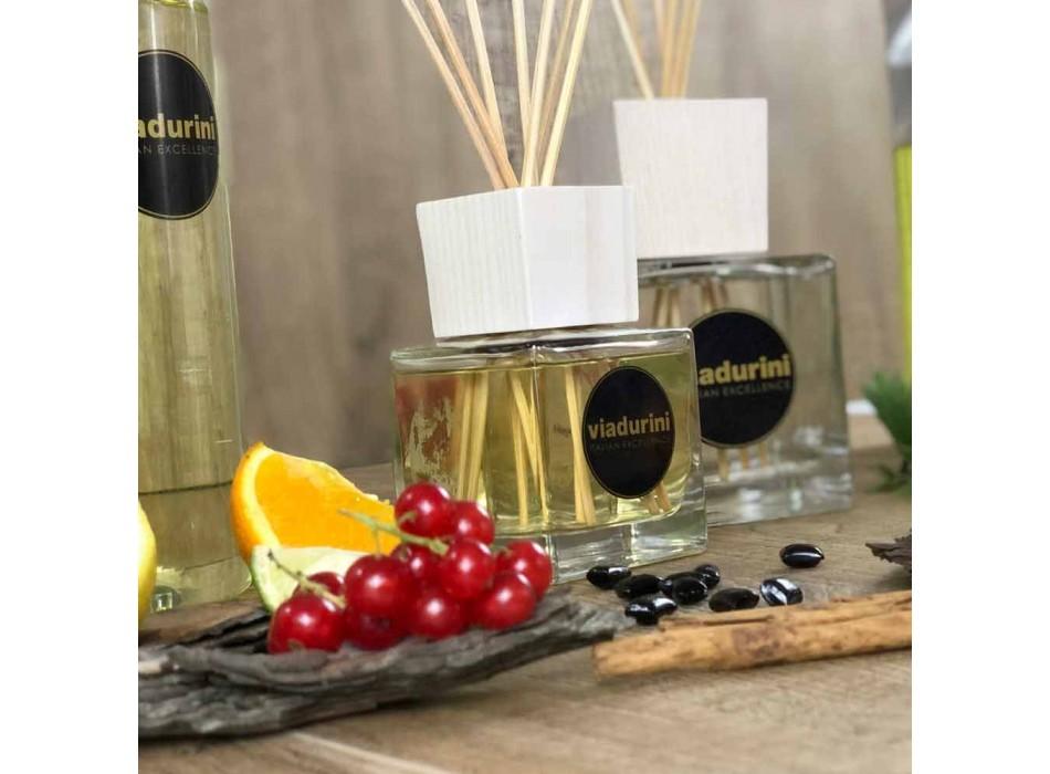 Amber Fragrance Home Air Freshener 200 ml with Sticks - Romaeterna