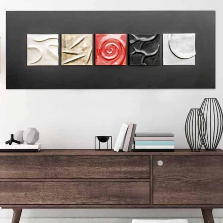 Modern painting Moma by Viadurini Decor, made in Italy