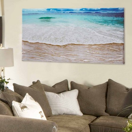 Decorative Painting Beach by Viadurini Decor made in Italy