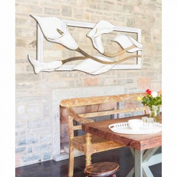 Framework with hand-painted gold leaf details calle with Tyler
