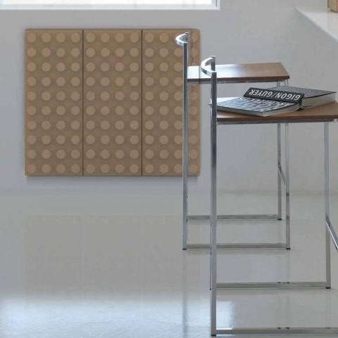Electric modern design light radiator Brick by Scirocco H