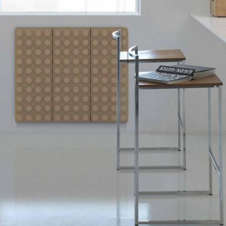 Contemporary design hot water radiator Brick by Scirocco H