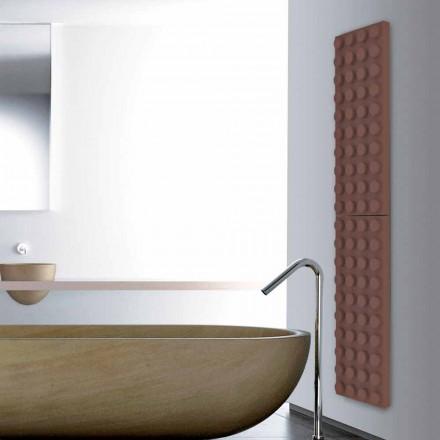 Designer lego brick hot water radiator Brick made in Italy Scirocco H